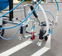 Road And Line Marking Glass Beads Dispenser