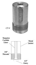 Tungsten Carbide Lined Metal Jacketed Short Barrel graphic
