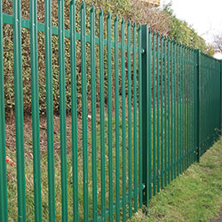 Steel Fence paint image