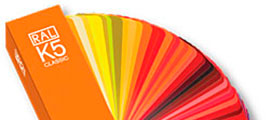 Paint Colours Specifications RAL, NCS and SABS
