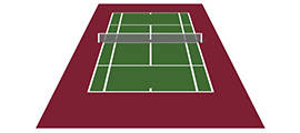 Guide to tennis court colour selection